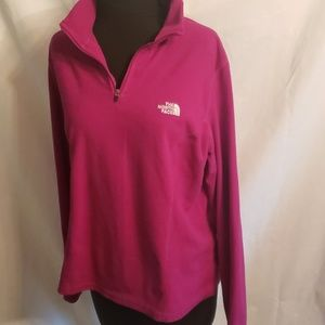 The North Face fleece pull over